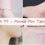RM 99 - minimal mini tattoo