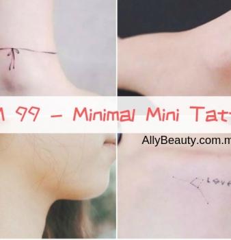 Minimal Mini Tattoo At KL Ampang Cheras @ RM99